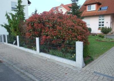 Mauern und Zäune (3)